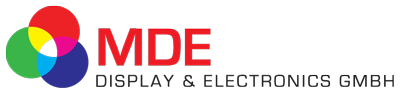 MDE Display + Electronics GmbH Logo
