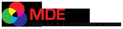 MDE Display + Electronics GmbH Logo